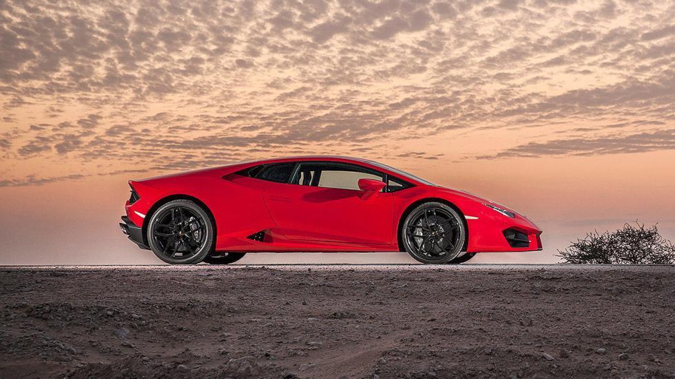 Prueba bestial: Lamborghini Huracán LP 580-2 estática