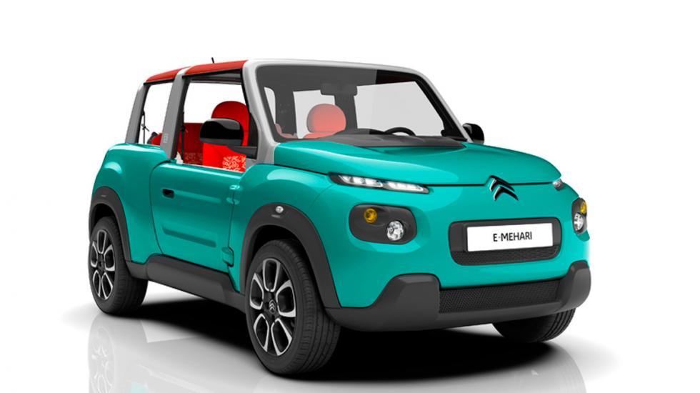 Citroën E-Mehari azul