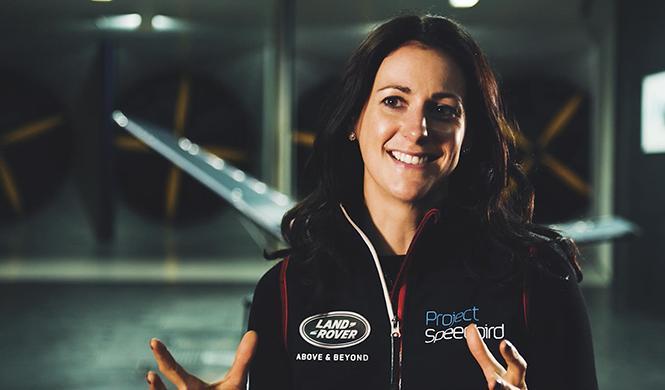 Land Rover y Hannah White, Speedbird 3