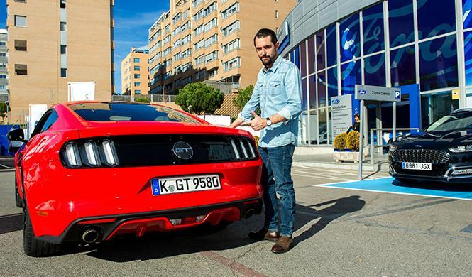 Dani Mateo embajador Ford Mustang España 2