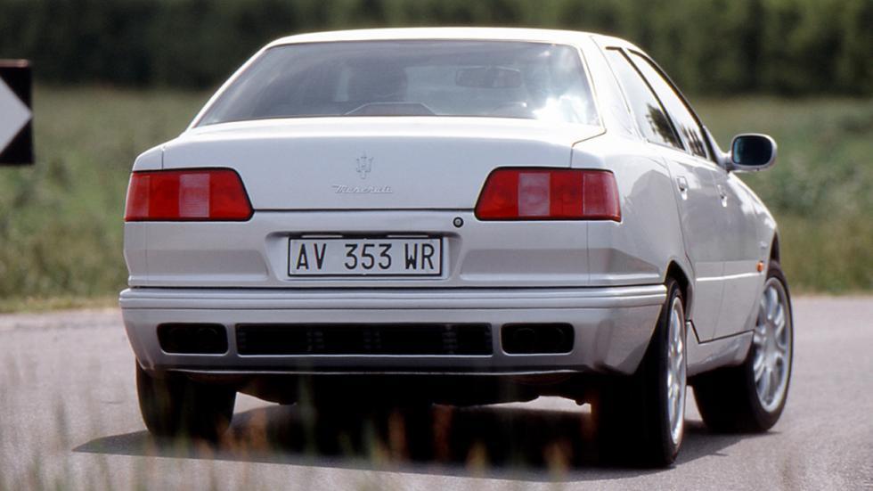 Maserati Quattroporte IV trasera