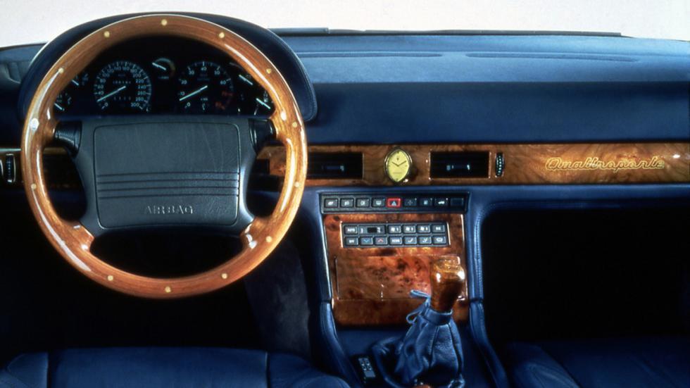 Maserati Quattroporte IV interior