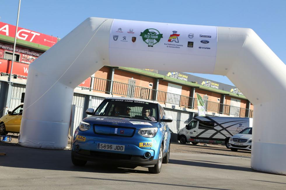 II Eco Rally Auto Bild Madrid