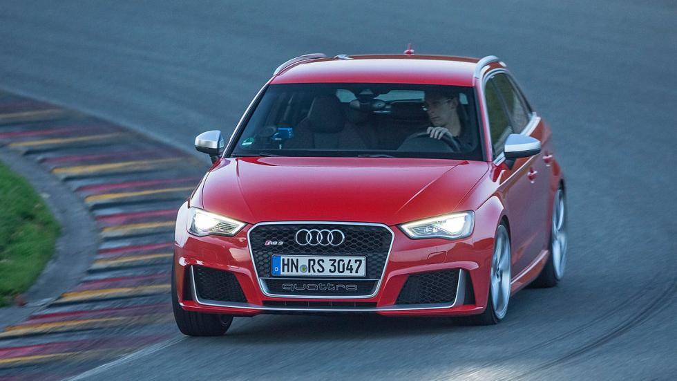 Audi RS 3 detalle faros