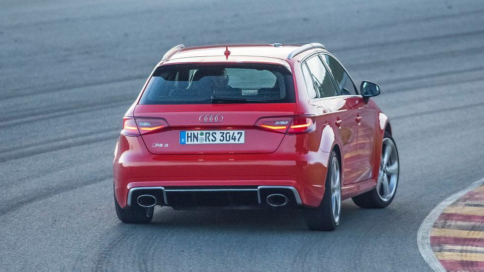 Audi RS 3 detalle faros zaga