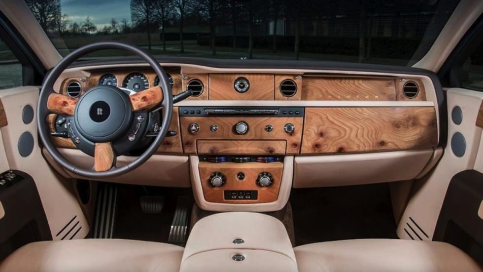Rolls-Royce Sunrise Phantom salpicadero