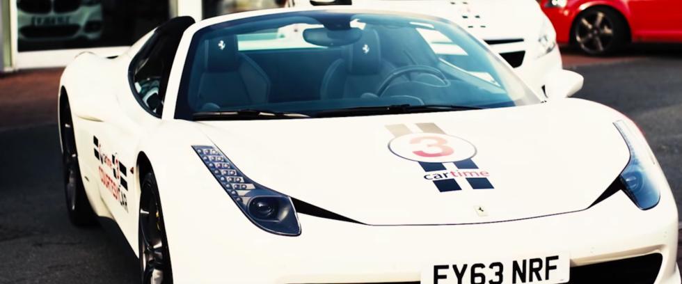 Fotos: Un coche de cortesía de 225.000 €