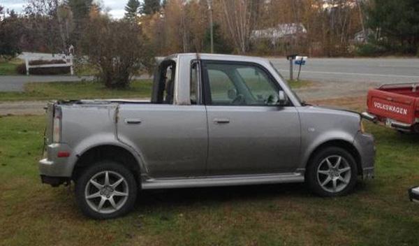 Atrocidades coches utilitario pick-up