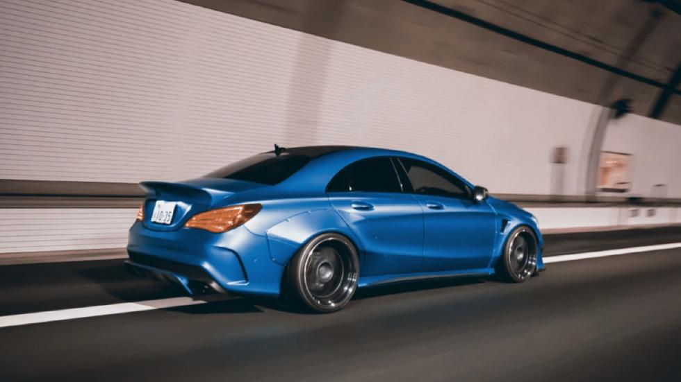 Mercedes CLA Fairy Design dinamica trasera