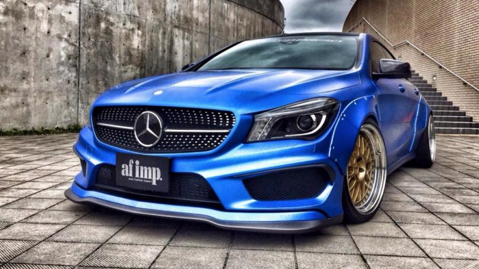 Mercedes CLA Fairy Design frontal