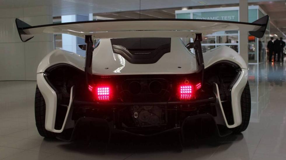 McLaren P1 GTR Suecia