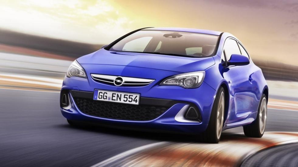 deportivos malos circuito Opel Astra OPC frontal