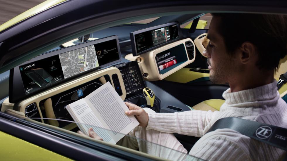 Rindspeed Etos conducción