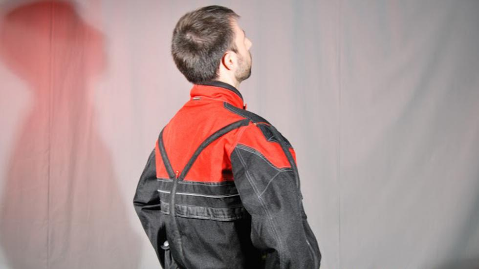 espalda chaqueta