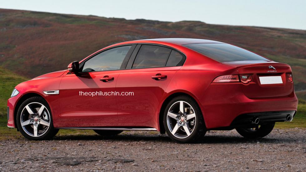 Render Jaguar XG trasera
