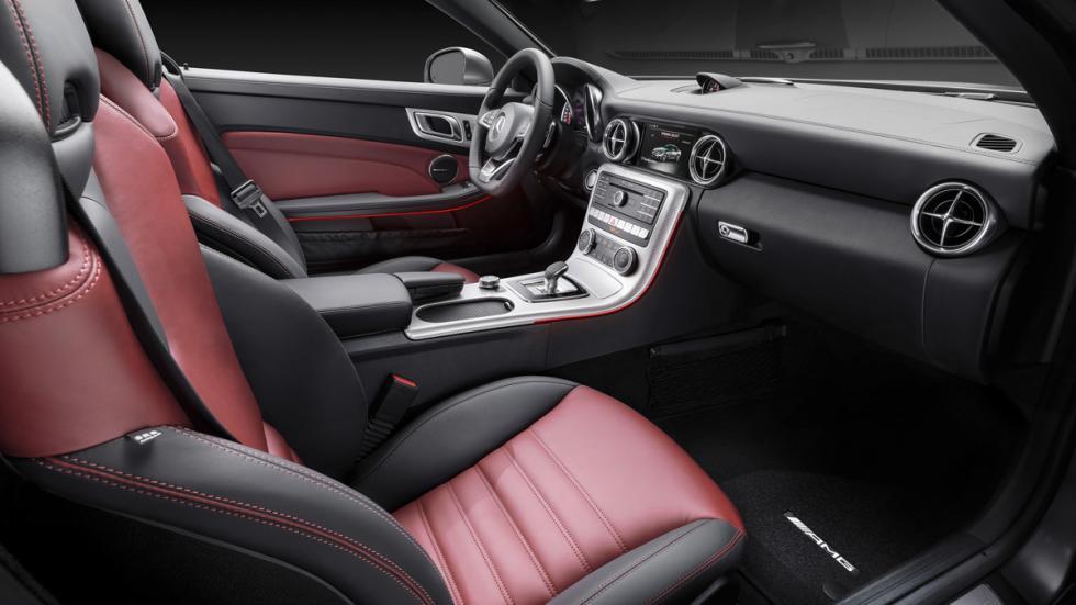 Mercedes SLC asientos