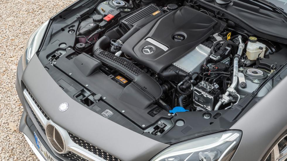 Mercedes SLC motor