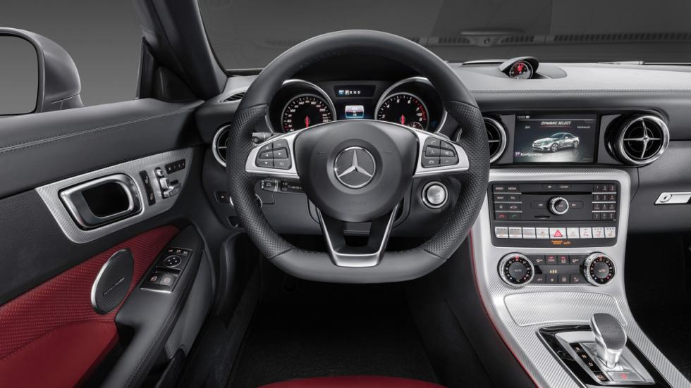 Mercedes SLC salpicadero
