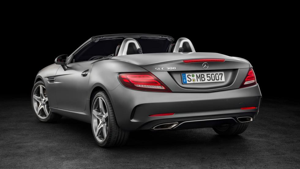 Mercedes SLC tres cuartos traseros