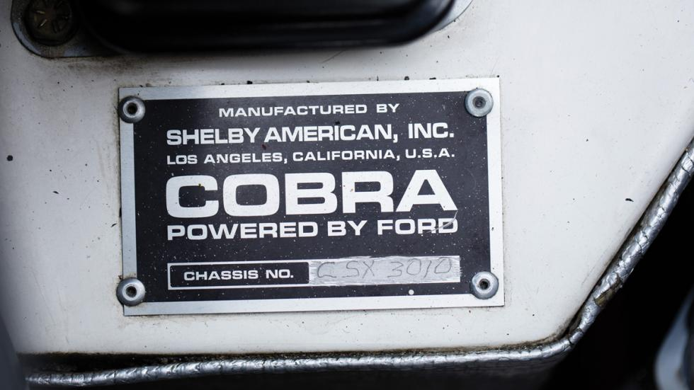 Shelby Cobra Competition chasis