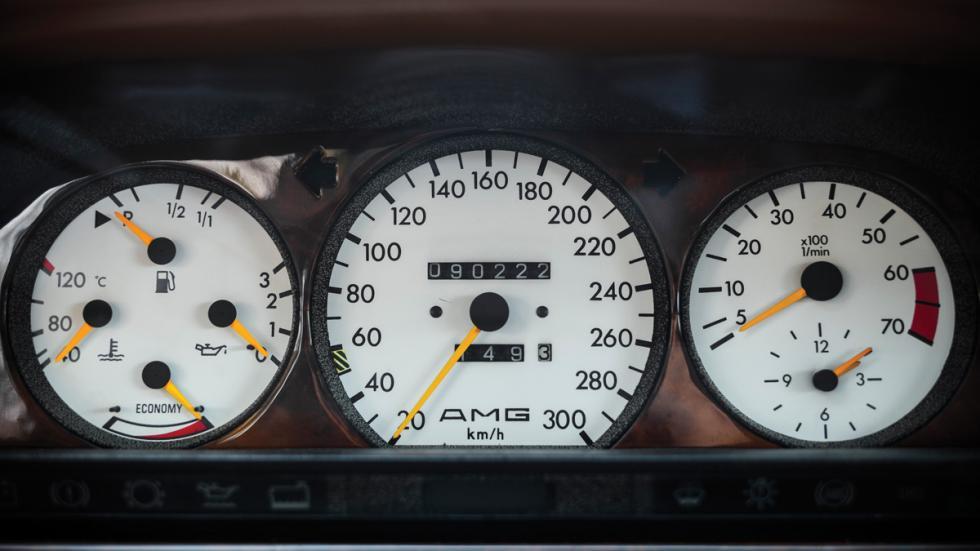 Mercedes 560 AMG cuadro mandos