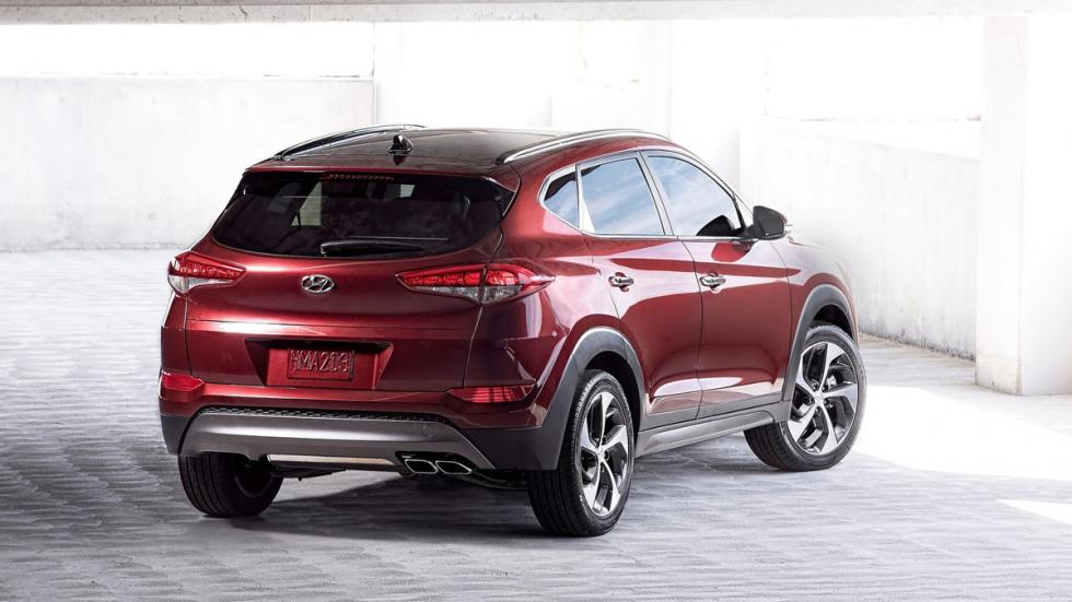 Hyundai Tucson trasera