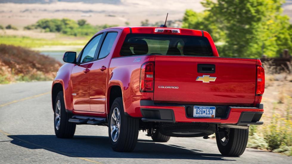 Chevrolet Colorado trasera