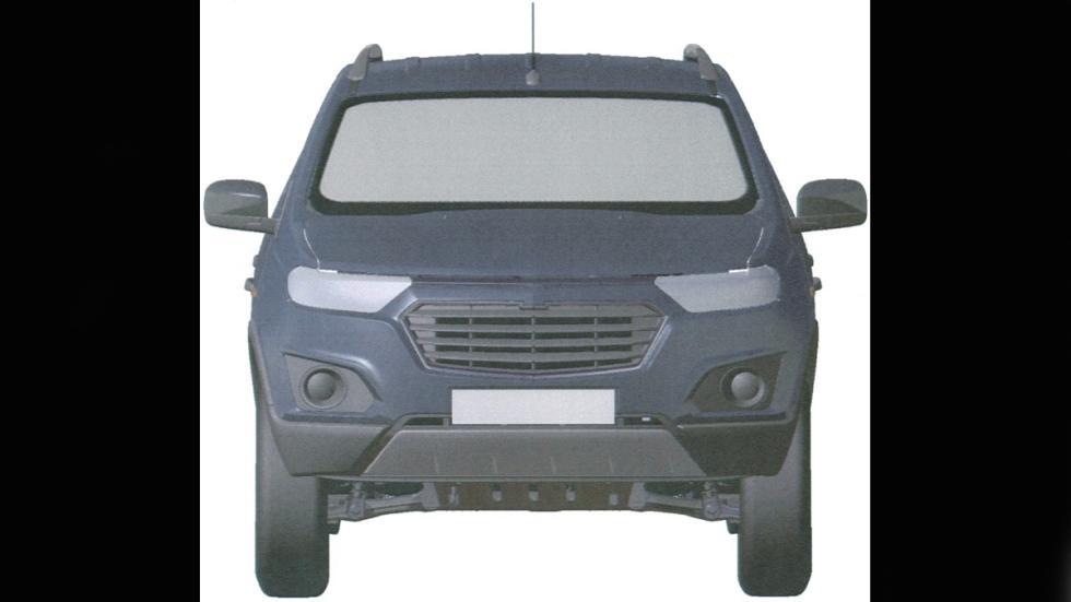 Chevrolet Niva frontal patente