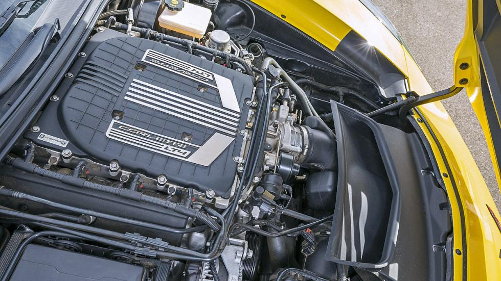 Chevrolet Corvette Z06 motor