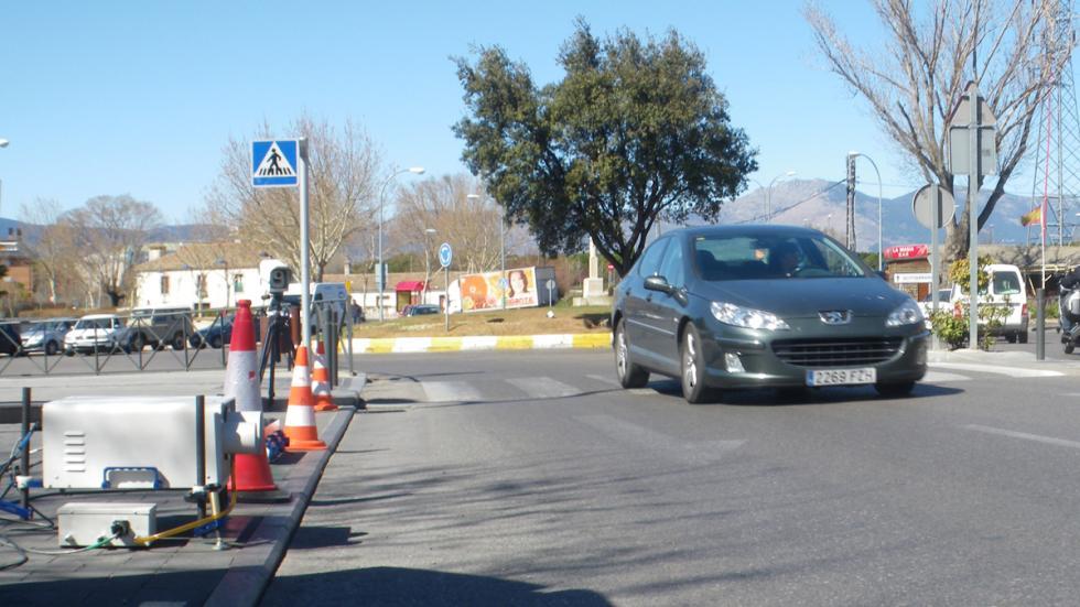 mide las emisiones de los coches