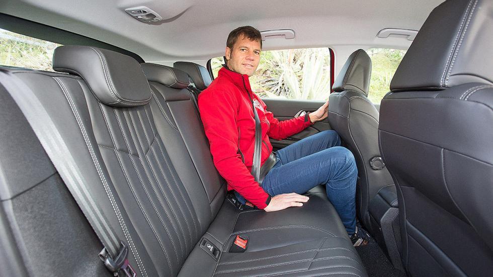 Renault Mégane interior detalle traseras
