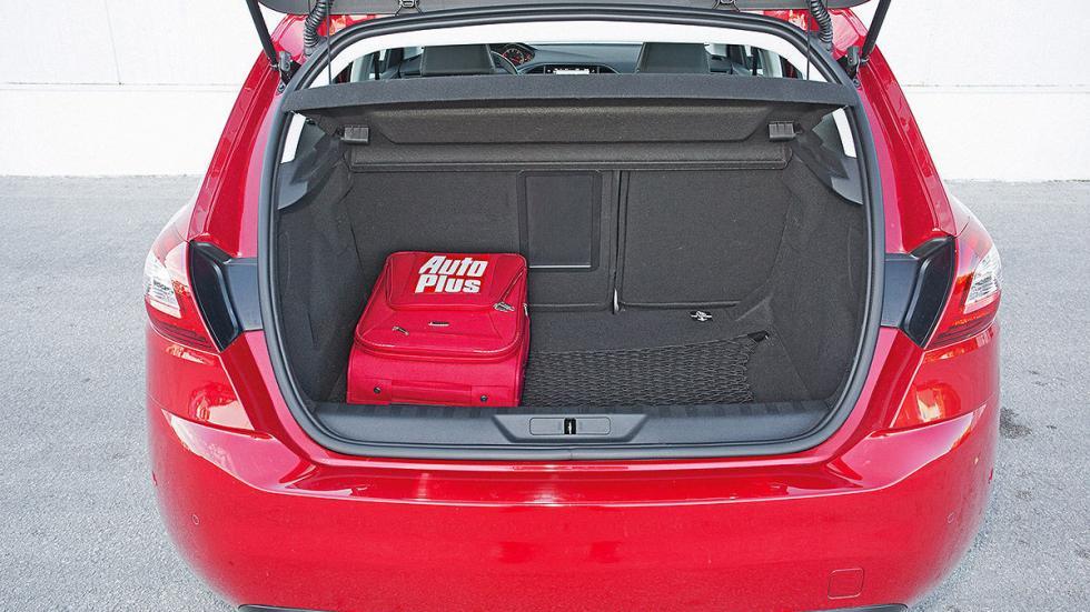 Peugeot 308 maletero