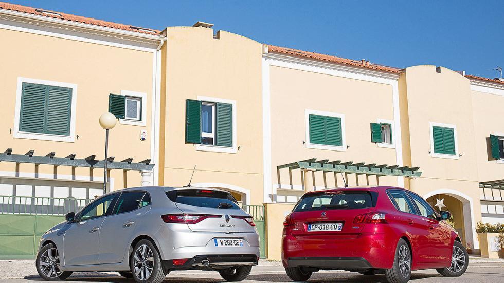 Primer cara a cara: Renault Mégane vs Peugeot 308