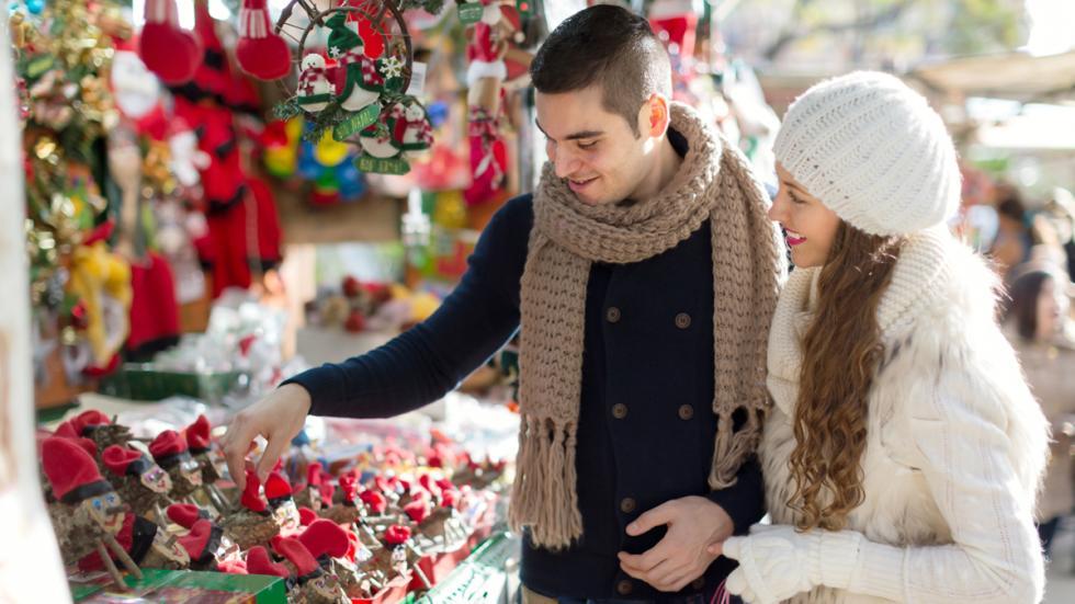 Mercado de Navidad de Barcelona