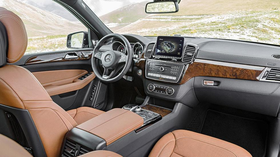 Mercerdes GLS interior