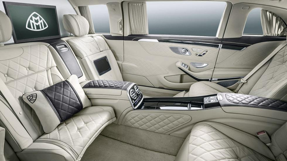 Maybach 600 interior