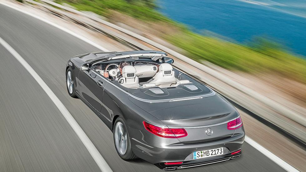 Mercedes Clase S Cabrio zaga