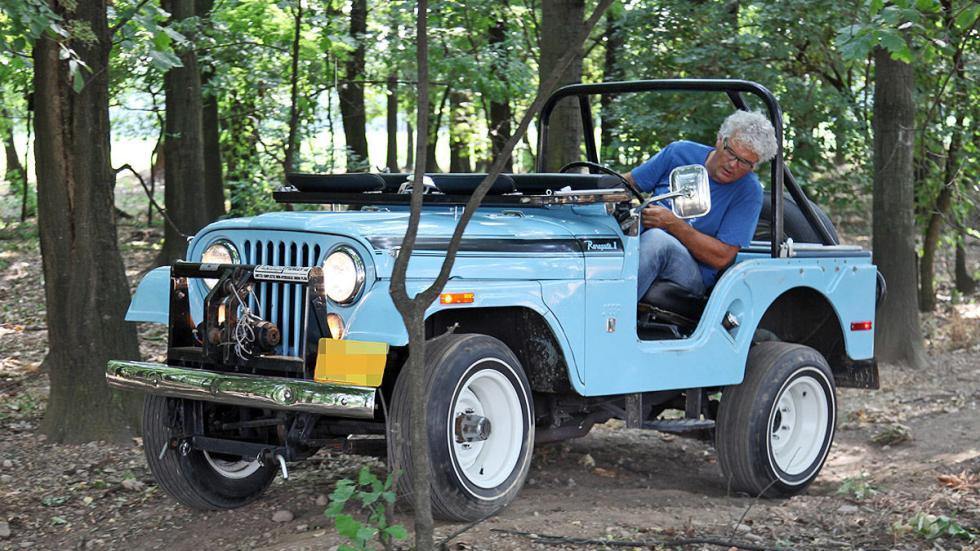 Jeep CJ-5 Renegade de 1970 offroad