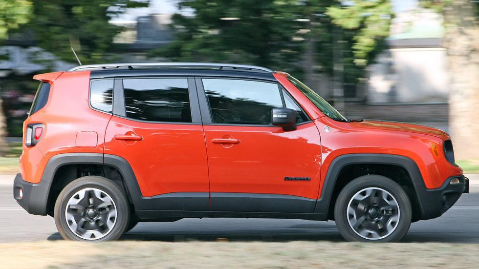 Jeep Renegade barrido