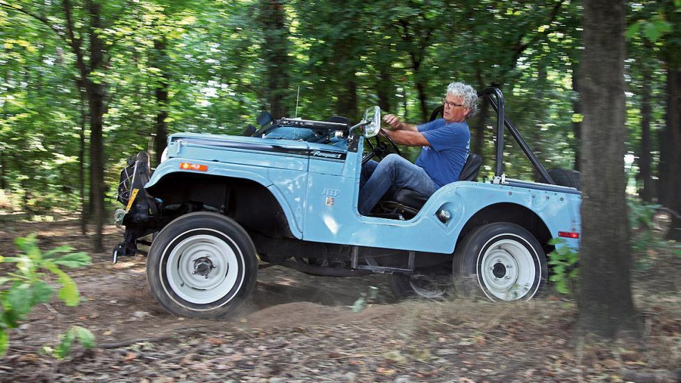 Jeep CJ-5 Renegade de 1970 lateral