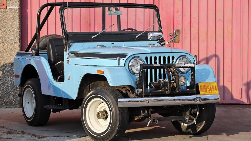 Jeep CJ-5 Renegade de 1970 faro frontal