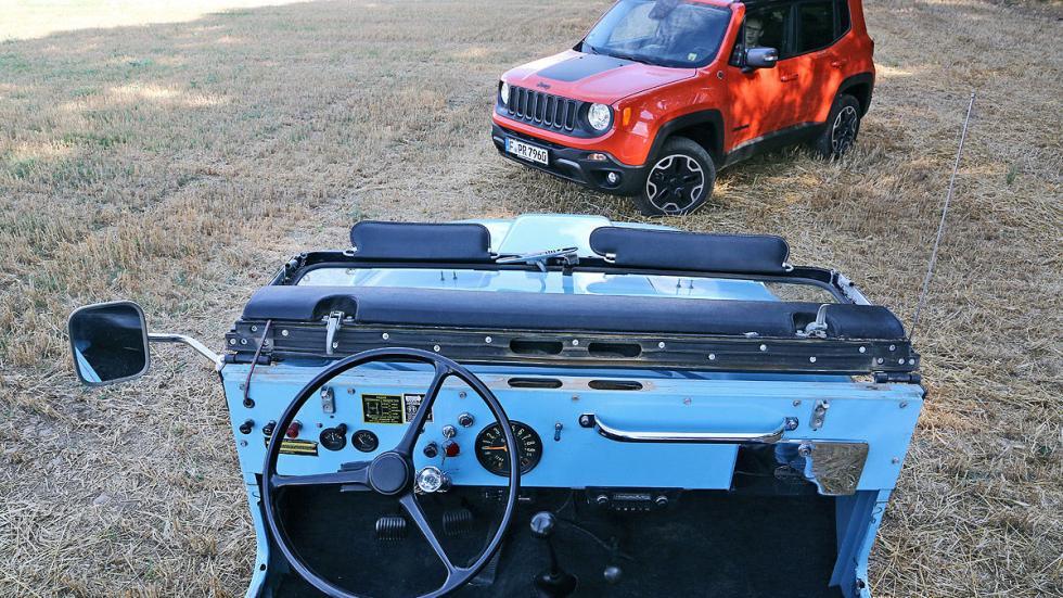 Hoy vs ayer: Jeep Renegade vs Jeep CJ-5 Renegade de 1970