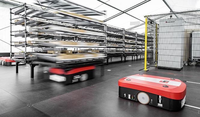 Sistema de transporte sin conductor Audi
