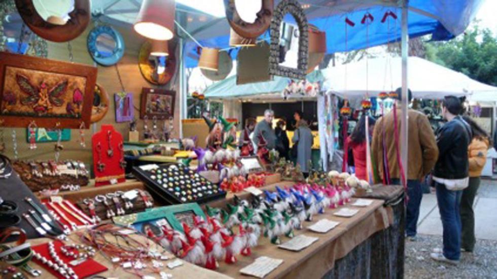 Mercado de Navidad de Valencia
