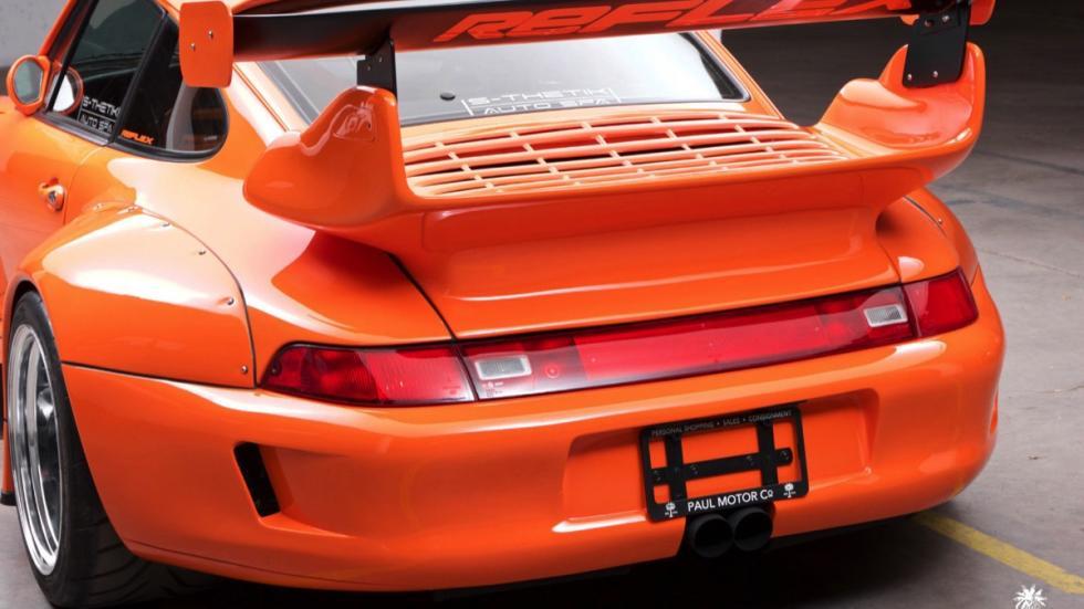 Porsche 911 993 trasera