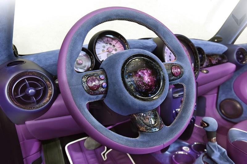 Mini One Cabrio by Vilner interior