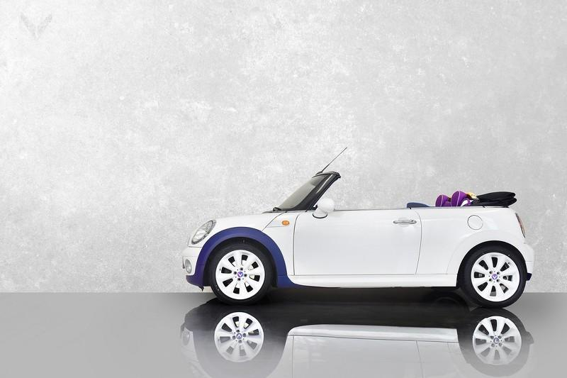Mini One Cabrio by Vilner lateral