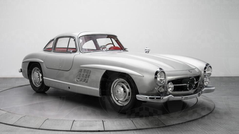 Mercedes 300 SL plata