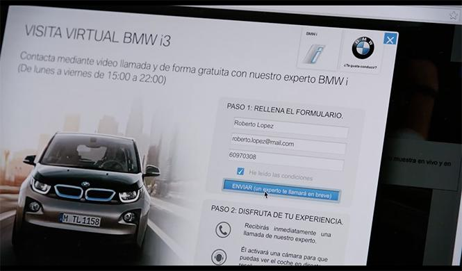 Visita virtual BMW 3