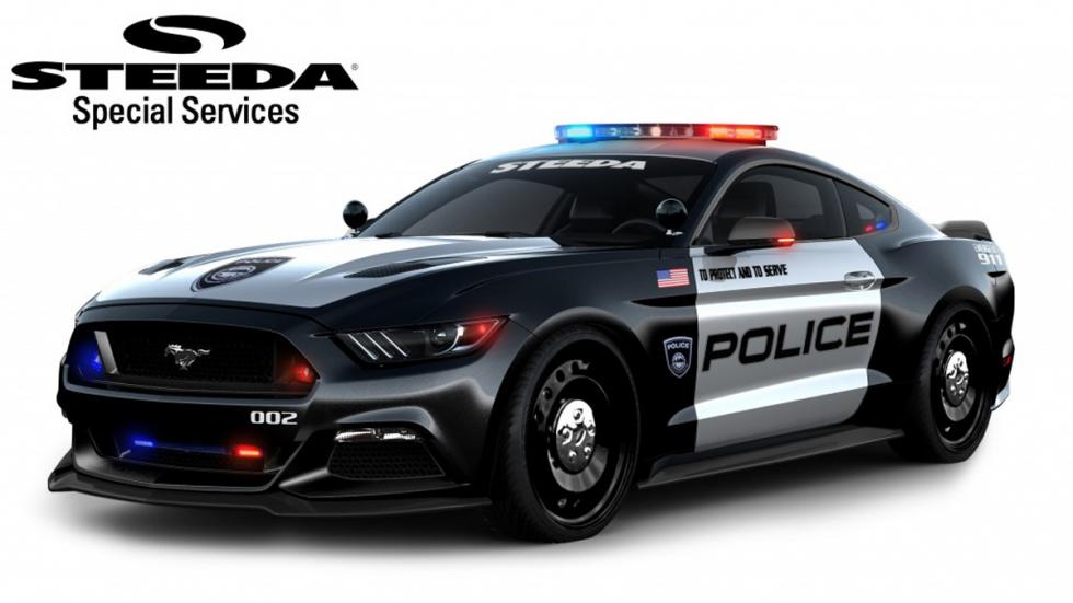 Ford Mustang policia steeda